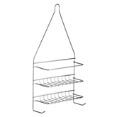 Picture of 2 TIER CHROME SHOWER CADDY STORAGE UNIT