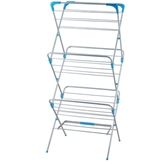 Picture of FOLDING CLOTHES DRYER SILVER WITH BLUE EDGES
