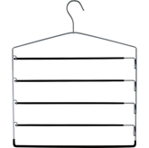 Picture of 4 TIER TROUSER HANGER BEDROOM KEEP YOUR CUPBOARD TIDY