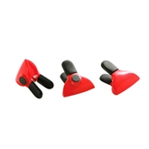 Picture of SET OF 3 RED MAGNETIC CLIPS FRIDGE MAGNET