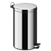 Picture of 20 LITRE MIRROR POLISHED STAINLESS STEEL PEDAL BIN