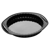 Picture of BLACK SILICONE PIE FLAN CAKE MOULD