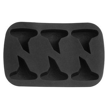 Picture of HALLOWEEN BLACK SILICONE 6 WITCHES HAT CAKE MOULD