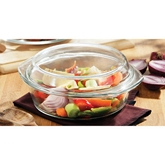 Picture of 2 LITRE CASSEROLE DISH TEMPERED GLASS WITH LID