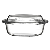 Picture of 1.5 LITRE CASSEROLE DISH TEMPERED GLASS WITH LID