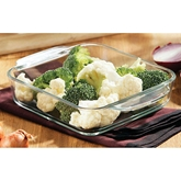 Picture of 1 LITRE CASSEROLE OVEN DISH TEMPERED GLASS