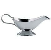 Picture of MIRROR POLISHED STAINLESS STEEL 10oz GRAVY BOAT