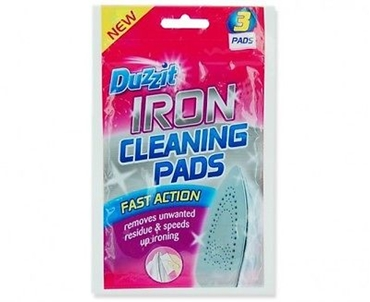 Picture of DUZZIT 3 PADS FAST ACTION IRON CLEANING PADS