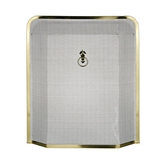 Picture of BLACK WITH GOLD EDGE FIRE SCREEN PROTECTOR