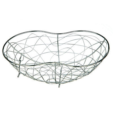 Picture of CHROME WIRE GEO FRUIT BASKET BAR FRUIT SHOP