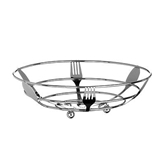 Picture of CHROME FRUIT BASKET WITH FOLK SPOON DESIGN EFFECT