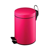 Picture of 3 LITRE HOT PINK RUBBISH WASTE LITTER BIN