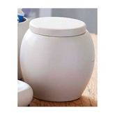 Picture of CREAM CERAMIC KITCHEN RESTAURANT BAR UTILITY STORAGE JAR