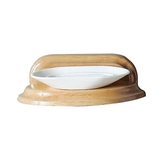 Picture of OAK WOOD SOAP DISH