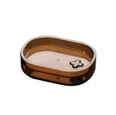 Picture of SMOKE BROWN PLASTIC SOAP DISH