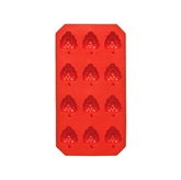 Picture of ICE CUBE TRAY STRAWBERRY SHAPE / IDEAL FOR ICE COLD DRINKS IN SUMMER