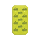 Picture of ICE CUBE TRAY LIME GREEN APPLE SHAPE / IDEAL FOR ICE COLD DRINKS IN SUMMER