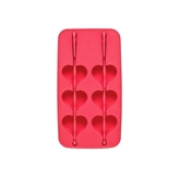 Picture of ICE CUBE TRAY HOT PINK HEART SHAPE / IDEAL FOR ICE COLD DRINKS IN SUMMER
