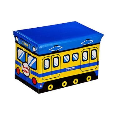 Picture of MDF/PVC CHILDRENS TRAIN DESIGN STORAGE BOX & SEAT
