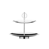 Picture of 2 - TWO - TIER STAINLESS STEEL CAKE STAND
