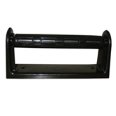 Picture of Black Plastic Kitchen Roll Holder Wall Mounted