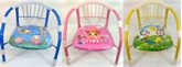 Picture of KIDS CHILDREN INDOOR OUTDOOR COMFORTABLE CHAIR YELLOW PINK BLUE