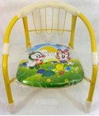 Picture of KIDS CHILDREN INDOOR OUTDOOR COMFORTABLE CHAIR YELLOW