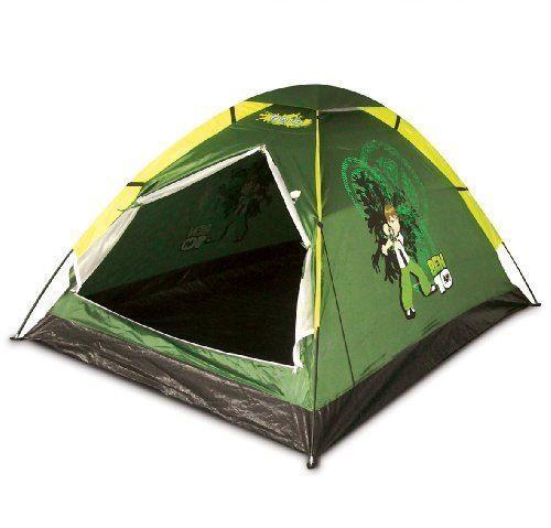 Official Ben 10 Boys 2 Person Camping Tent Estoreuk
