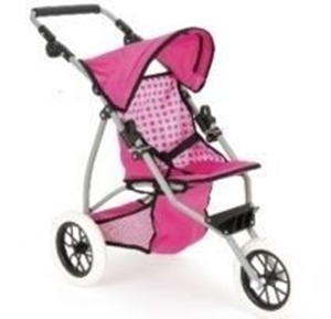 Picture of BABY DOLL SNUGGLES FOLDING PRAM PUSH CHAIR BUGGY 3 WHEELS