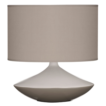 Picture of STYLISH MODERN GREY CERAMIC TABLE DESK LAMP