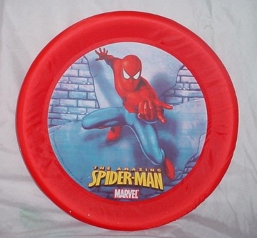 Picture of NEW LARGE SPIDERMAN FLYING DISC FRISBEES SOFT GRIP TOY
