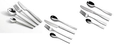 Picture of 16pc Cutlery Set Stainless Steel 3 different Style For Kitchen Dining