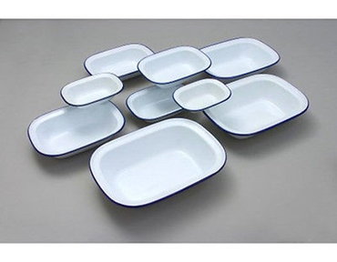 Picture of Pie Dish Baking Dish Bake ware Falcon Enamelware Oven Accessory Sizes 16 to 32cm