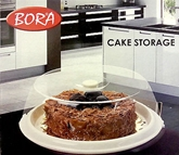Picture of Cake Storer Carrier Server Clear Plastic Cover Base Food Storage Brand New