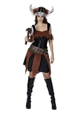 Picture of VIKING LADY FANCY DRESS HALLOWEEN COSTUME GIRLS WOMEN