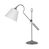 Picture of Table Lamp Adjustable Height Nickel Finish Body Stylish Designed