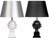 Picture of Melano Table Lamp Study Lamp Black Fabric Shade In Two Colors Modern Design