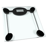 Picture of Digital Bathroom Scale Glass Weight Scale 180kg Weight Limit For Daily Use