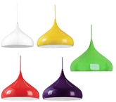 Picture of Aerial Pendant Light  E27 Edison Screw 60 Watt Yellow Red Lime Green Purple New