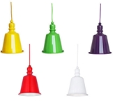 Picture of Pagoda Pendant Light E27 Edison Screw 60Watt Yellow Lime Green Purple White Red