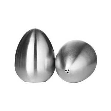 Picture of Salt And Pepper Stainless Steel Egg Shaped Modern Design Kitchen Accessories New