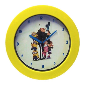 Picture of Despicable Me 2 Wall Mounted Clocks Genuine Kids Clock in 2 Designs Brand New
