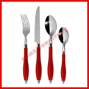 Picture of Lucianna Cutlery Set 16pc Stainless Steel Available In 2 Colors Ideal For Dining