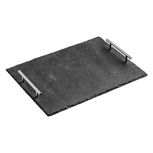 Picture of Slate Serving Trays Cake Stands Coasters  Kitchen Coordinates In Different Sizes