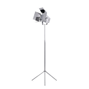 Picture of Spotlight Floor Lamp Made Of Quality Metal In Two Colors 40W (Chrome)