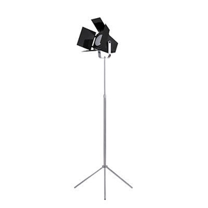 Picture of Spotlight Floor Lamp Made Of Quality Metal In Two Colors 40W H135 x W58 x D58cm
