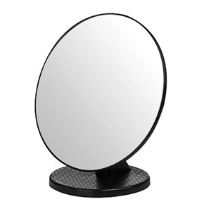 Picture of Swivel Table Mirror Plastic Body  Free standing Stylish design In 5 Colors