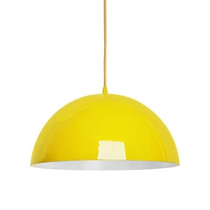 Picture of Mars Pendant Light  E27 Edison Screw 60 Watt (Yellow)