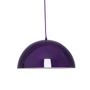 Picture of Mars Pendant Light  E27 Edison Screw 60 Watt (Purple)