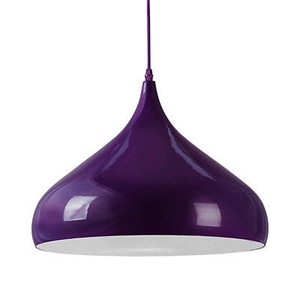 Picture of Aerial Pendant Light  E27 Edison Screw 60 Watt (Purple)